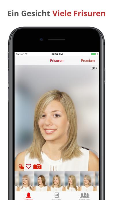 "Hair Zapp"" Im App Store"