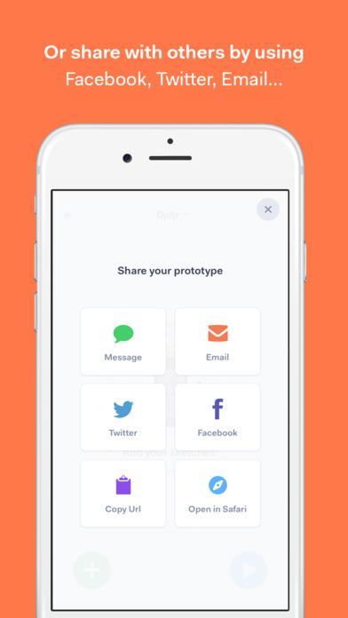 POP -  Prototyping on Paper. Screenshot