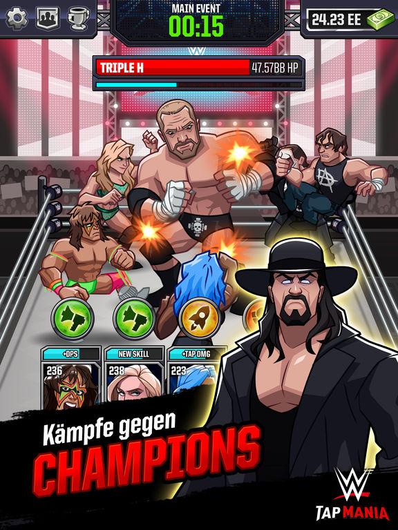 WWE Tap Mania Screenshot