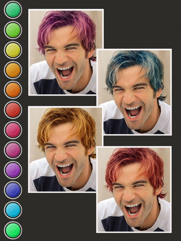 Hair Color Booth™ Dans L'App Store