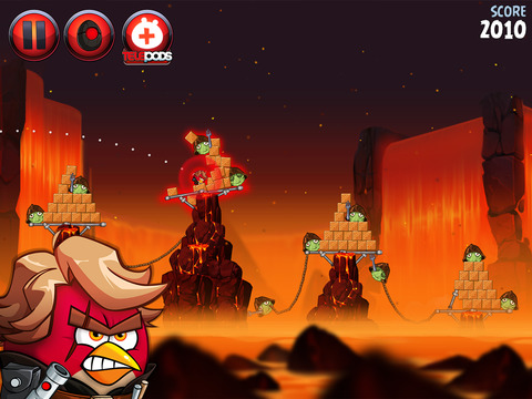 Angry Birds Star Wars II Screenshot