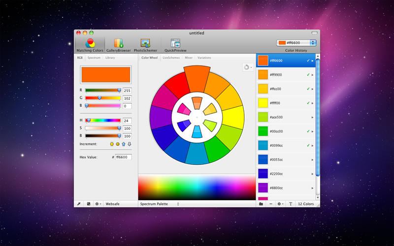 ColorSchemer Studio for Mac 2.1 序号版 - Mac上优秀的专业配色软件