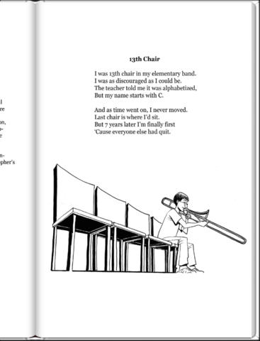 Band Nerds Poetry From The 13th Chair Trombone Player by