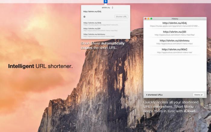 2_Short_Menu_-_Lightning_fast_intelligent_URL_shortener.jpg