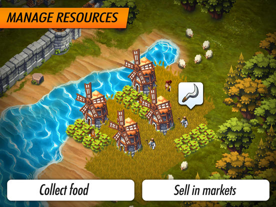 Lords & Castles - Medieval War Strategy MMO Games Screenshot