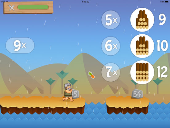 Running Noah from Useappility -A Fun App for Practicing Multiplication