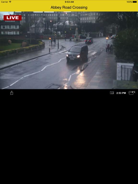 Earthcam Road Abbey London