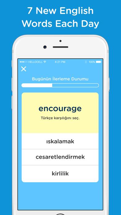 Hello7 - Learn English Words, Vocabulary Screenshot