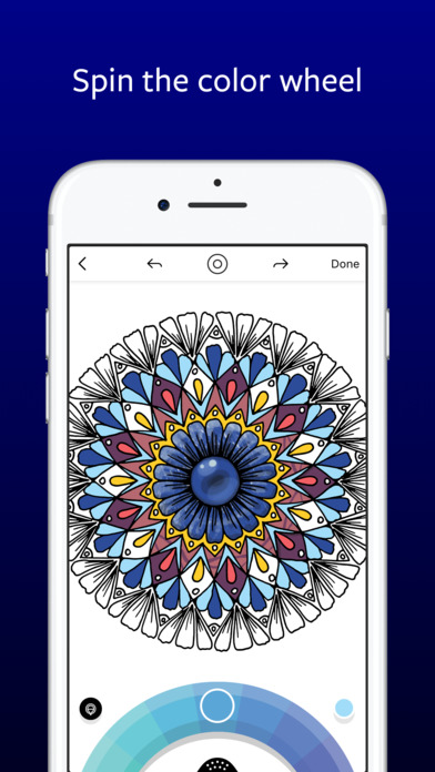 Lake: De-Stress Therapy with Art Colouring Pages Screenshot