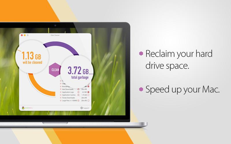 Disk Cleaner for Mac 1.2 激活版 – 优秀的磁盘垃圾清理工具-麦氪派(WaitsUn.com | 爱情守望者)