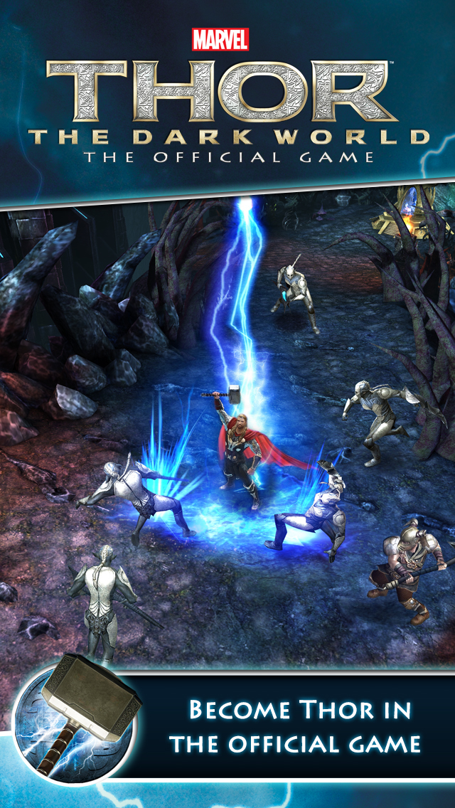 Thor The Dark World Game : world, Thor:, World, Official, Review, IPhone, Reviews, AppSpy.com