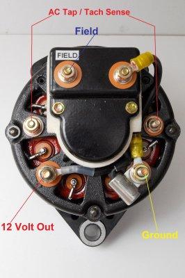 Leece Neville 8mr Series Alternator External Regulation