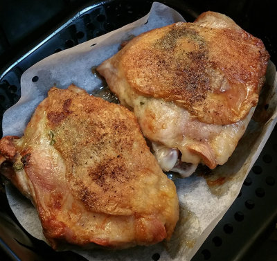 Air Fried Turkey Thighs photo - Isabel Cutler photos at
