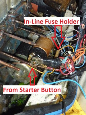 Universal Diesel Wiring Harness Upgrade Photo Gallery by Compass Marine How To at pbase