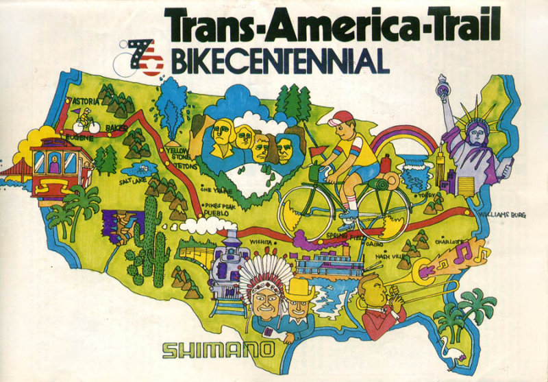 Image result for bikecentennial