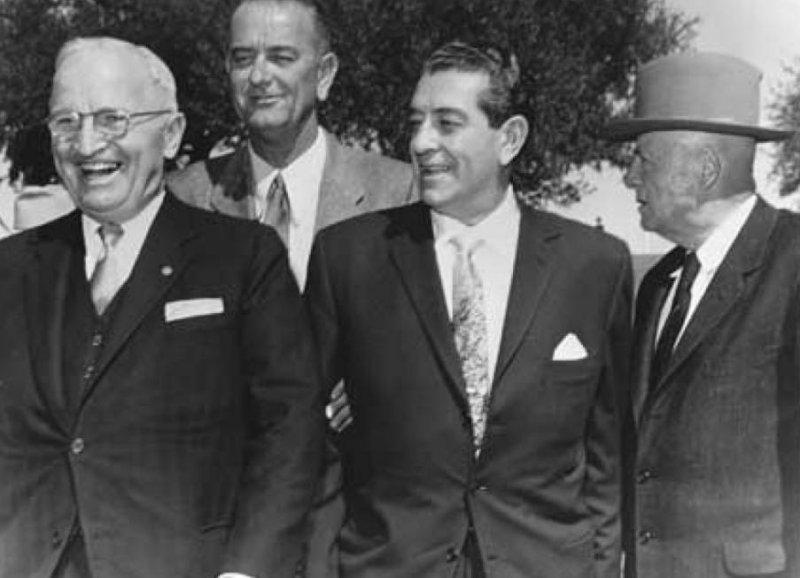 Truman y Adolfo López Mateos