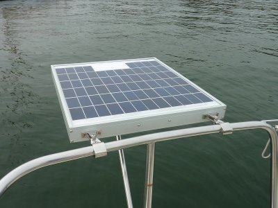 Camper Trailer Battery Wiring Diagram Installing A Small Marine Solar System Photo Gallery By