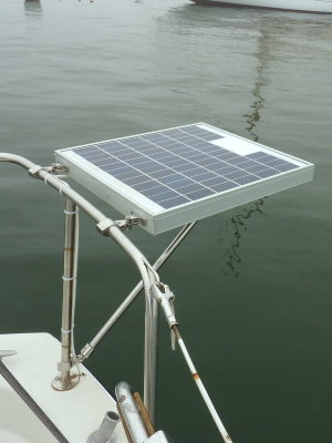 Installing A Small Marine Solar System Photo Gallery by