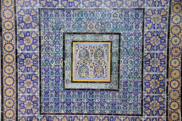 tile detail ahmed pasha karamanli mosque photo brian mcmorrow photos at pbase com