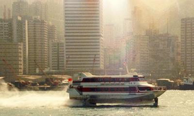 Macau Hydro Foil Hong Kong photo - Tom Jackson photos at pbase.com