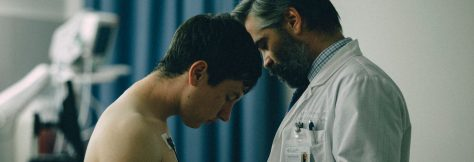 Colin Farrell & Barry Keoghan in The Killing of a Sacred Deer