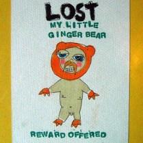 my little ginger bear