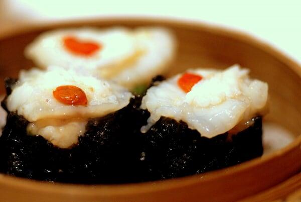 Scallop Seaweed Dumpling
