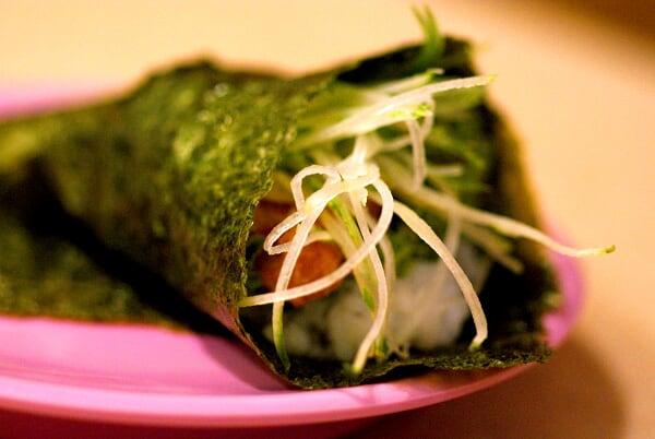 Spicy Salmon Temaki