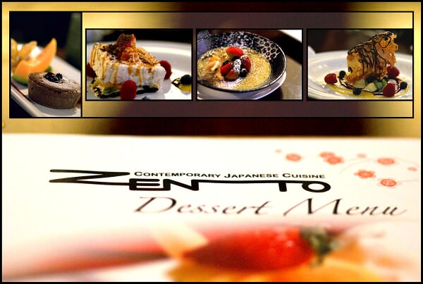 Desserts of Zento... (Selection)