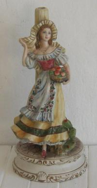 Lamps - BEAUTIFUL PORCELAIN FIGURINE LAMP - MADE IN ITALY ...