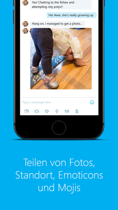 Skype für iPhone Screenshot
