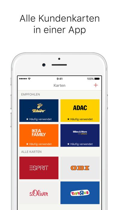 Stocard - Kundenkarten Screenshot