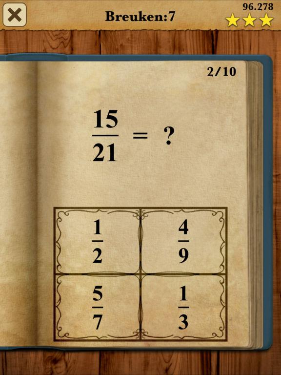 Rekenkoning: Volledige versie Screenshot