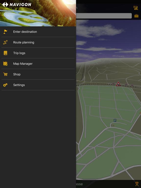 NAVIGON select Telekom Edition Screenshot