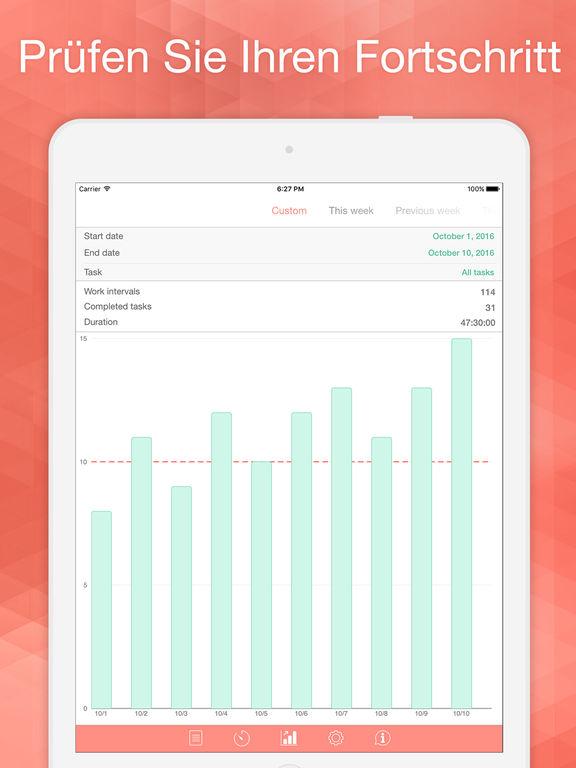 Be Focused Pro - Fokus-Timer für die Arbeit Screenshot