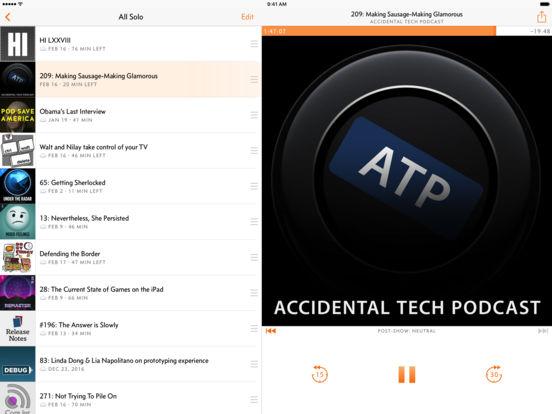 Overcast: Podcast Player iPad