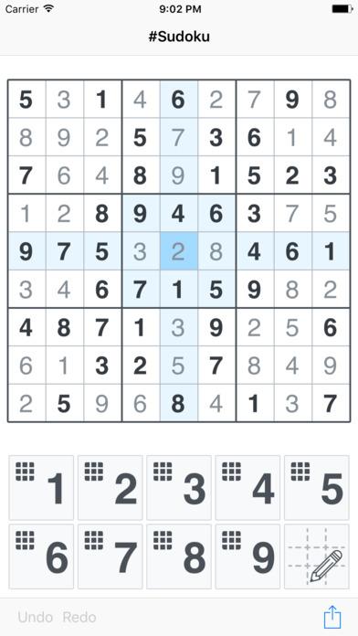 #Sudoku Screenshot