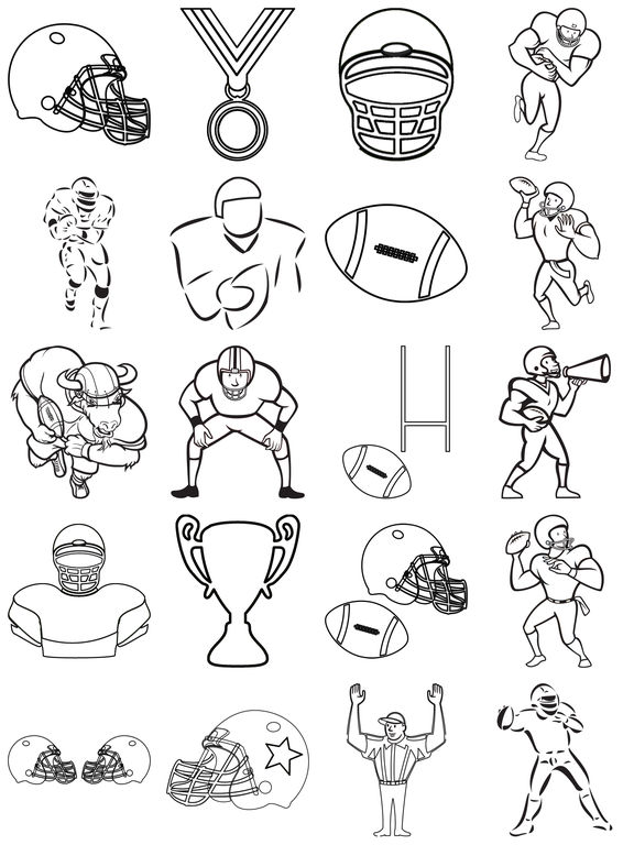 App Shopper: Football Team Coloring Pages Games (Games)