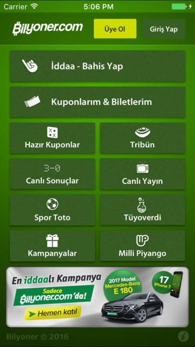 Bilyoner – İddaa Oyna Screenshot