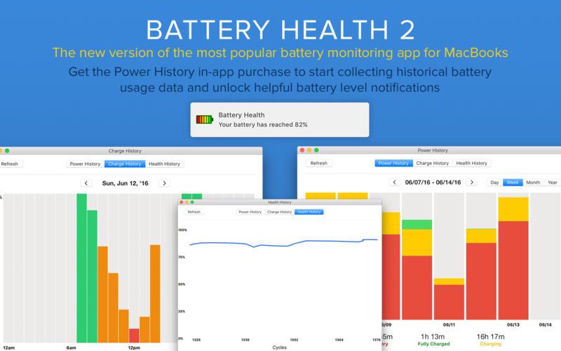 Battery Health 2 for Mac 1.3 激活版 - 全能电池健康医生查看器