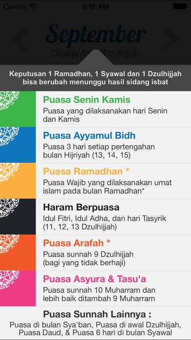 Kapan Puasa Arafah 2016 : kapan, puasa, arafah, Kalender, Puasa, AppPicker