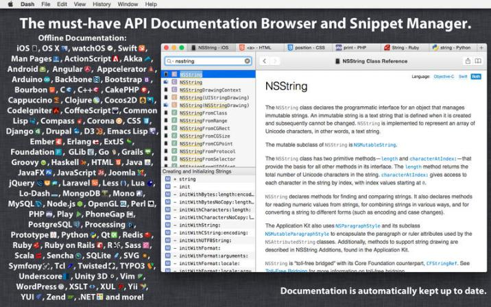 1_Dash_3_API_Docs_Snippets._Integrates_with_Xcode_Alfred_TextWrangler_and_many_more..jpg