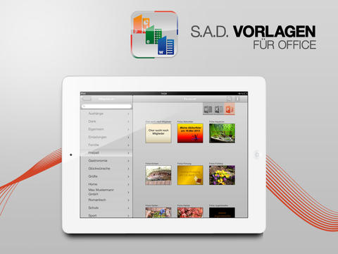 SAD Vorlagen fr Office  Apps  148Apps
