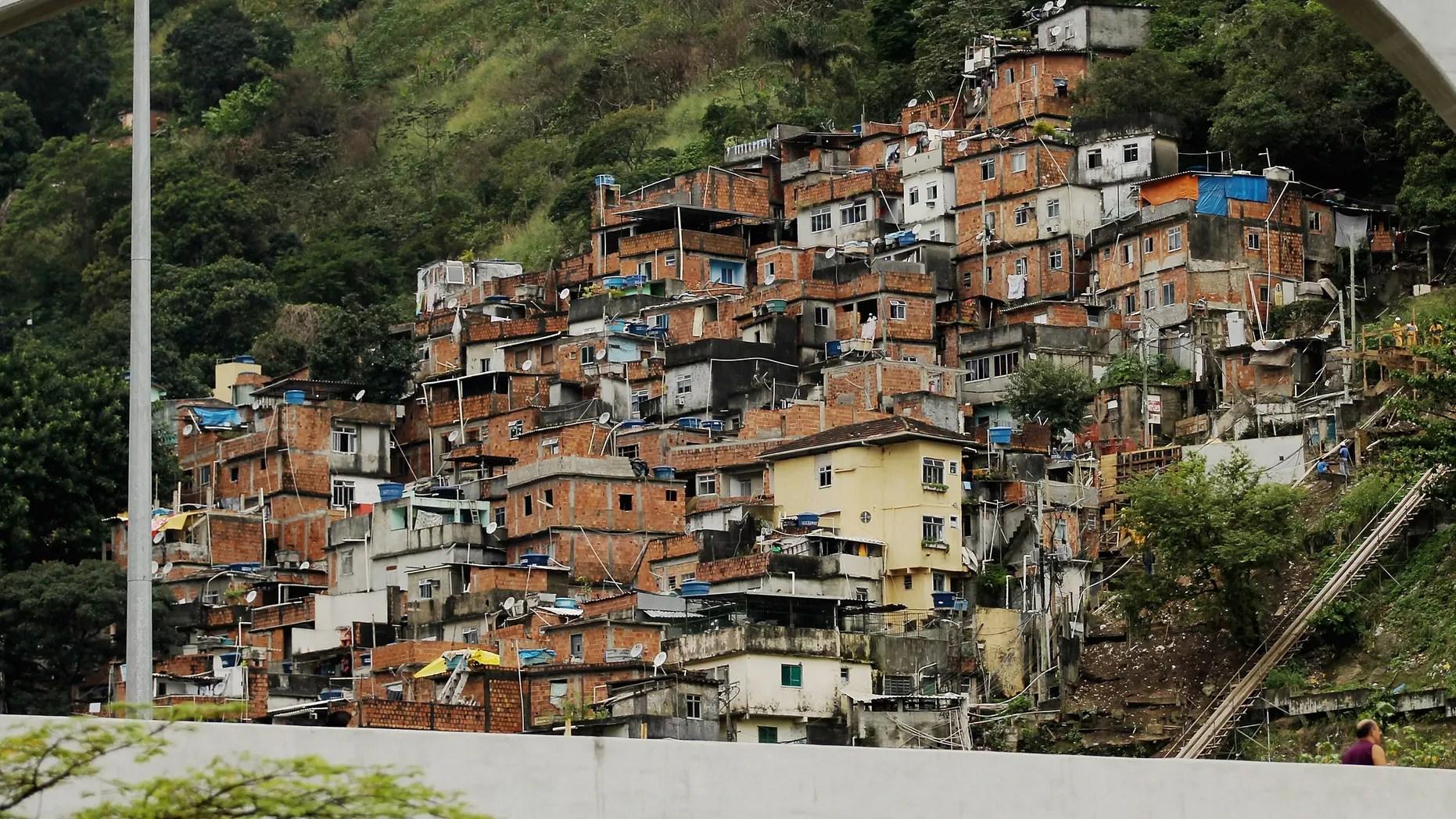 Rio de Janieros quotFavelasquot Transform from Slums to Real