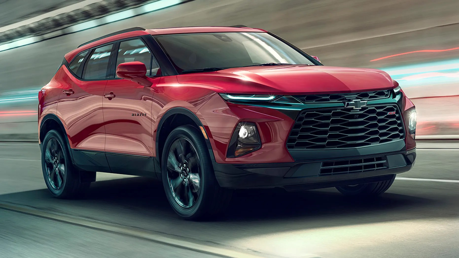 2019 chevrolet blazer rs an attention grabbing midsize suv offering style and versatility [ 1862 x 1048 Pixel ]