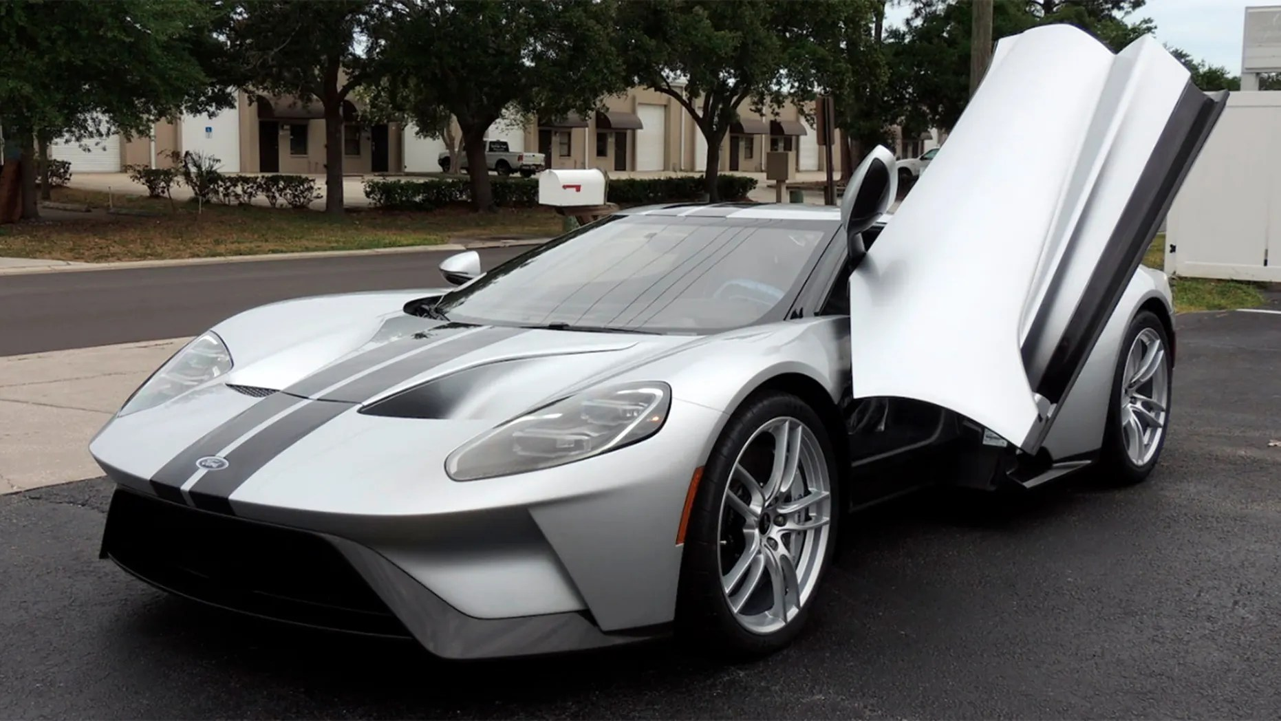small resolution of a 2017 ford gt was auctioned for 1 8 million but how
