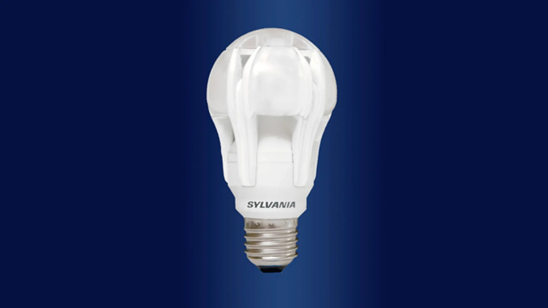 this is osram sylvania s ultra high performance series omni directional led a line lamp [ 1862 x 1048 Pixel ]