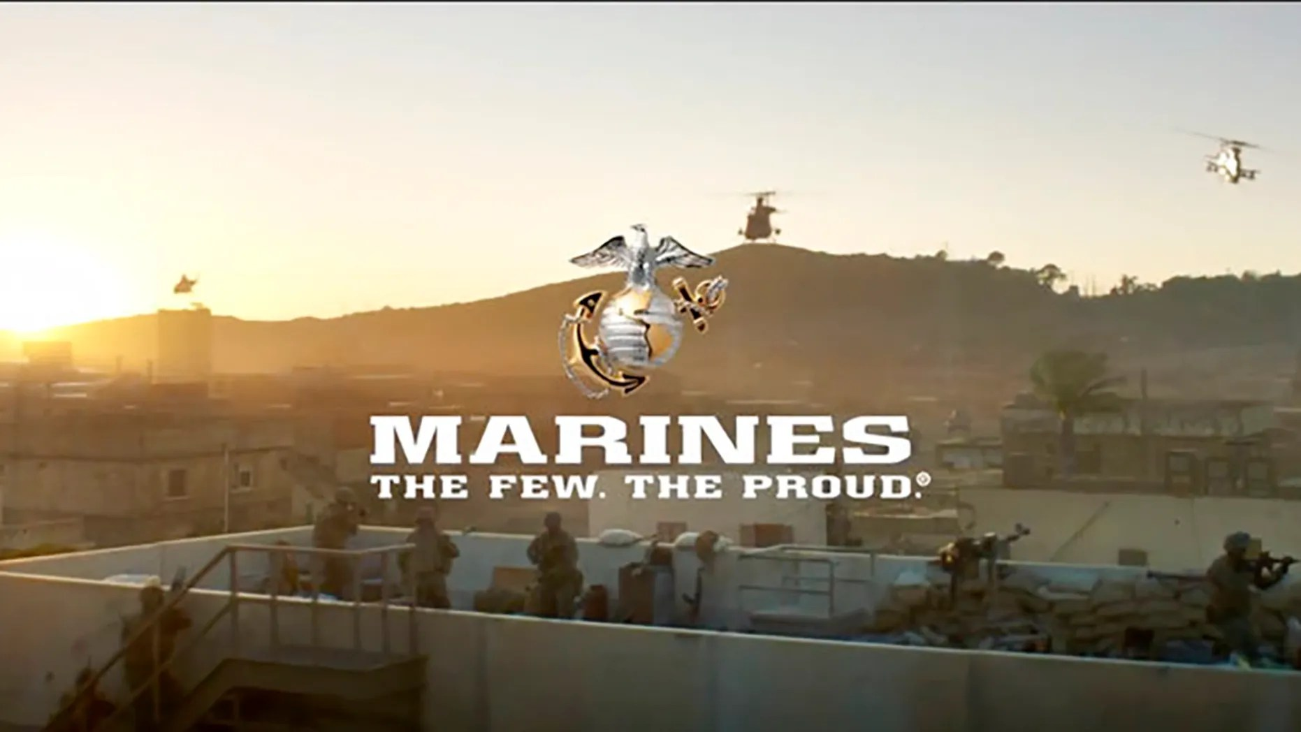 Image from a video released by the U.S. Marine Corps.