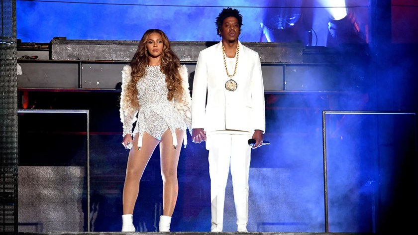 "Beyonce and Jay-Z just finished their ""On the Run II"" tour."