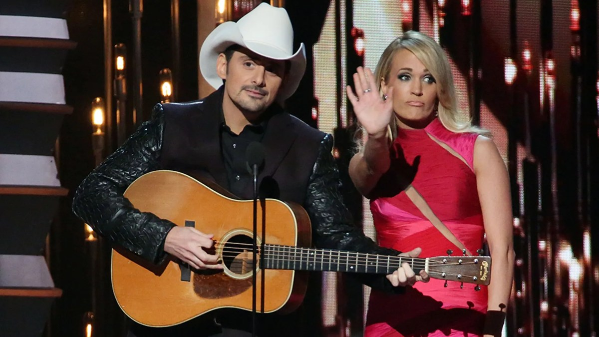 Brad Paisley and Carrie Underwood are teaming up to host the 2018 CMAs in Nashville, Tennessee, on Nov. 14.